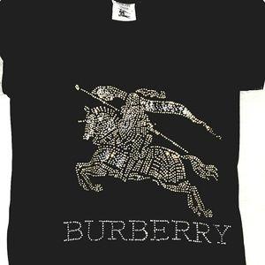 Burberry Rhinestone Embellished Tshirt